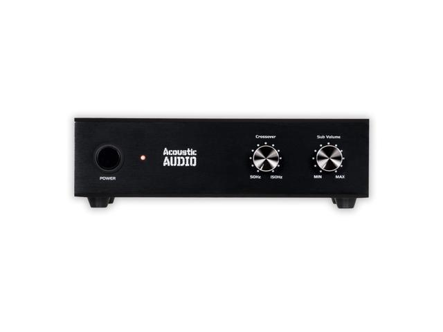 acoustic audio ws1005 passive subwoofer amp 200 watt amplifier for home theater. Black Bedroom Furniture Sets. Home Design Ideas