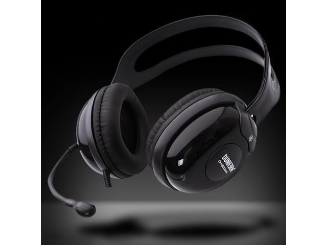 Durherm DR-H30 Computer PC Laptop Notebook Desktop OnEar High Quality Headphone Headset w/ Noise Canceling Microphone