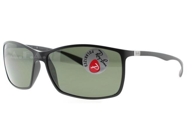 Ray Ban RB Tech Liteforce 4179 601-S/9A Matte Black Polarized Sunglasses 62mm