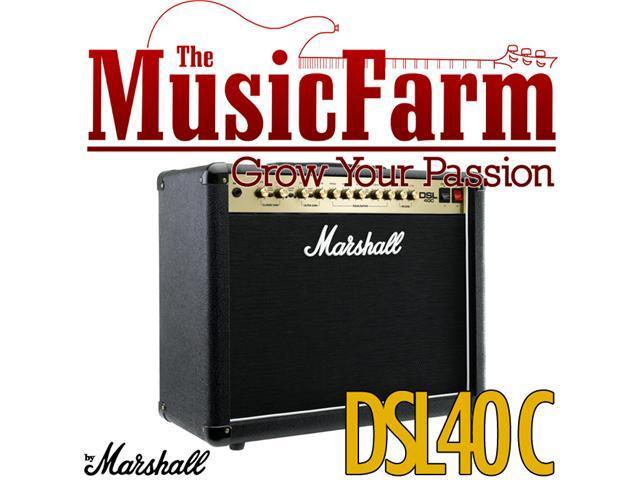 Marshall DSL DSL40C 40 Watt All Tube Electric Guitar Combo Amplifier Amp