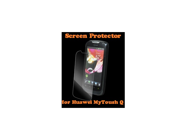 Genuine Zagg InvisibleShield Front Screen Protector for Huawei MyTouch Q HUAMYTOQS