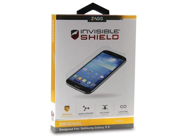 Zagg InvisibleShield Screen Protector for Samsung Galaxy S4 S 4 IV SIV LTE UPC:843404093823 MPN:FFSAMGALS4S