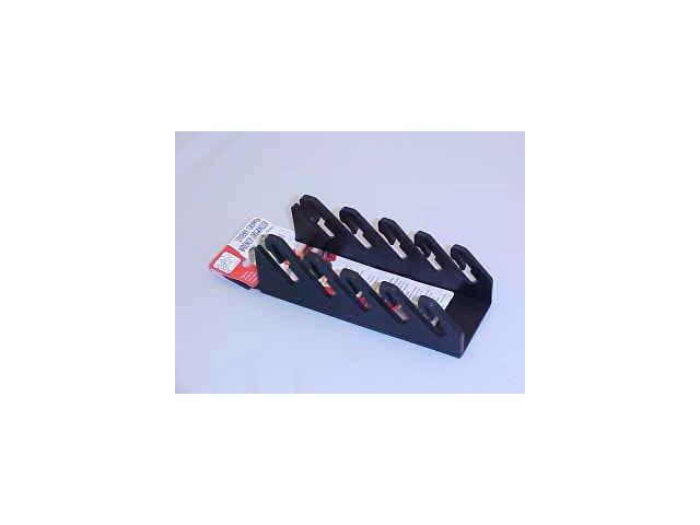 ERNST Mfg 5071 Black 5 STUBBY Wrench Organizer
