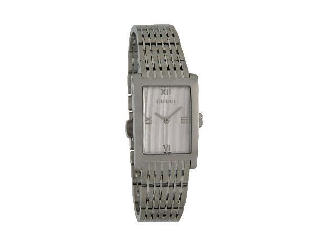 Gucci 8600 Series Mid-Size Silver Dial Watch YA086405