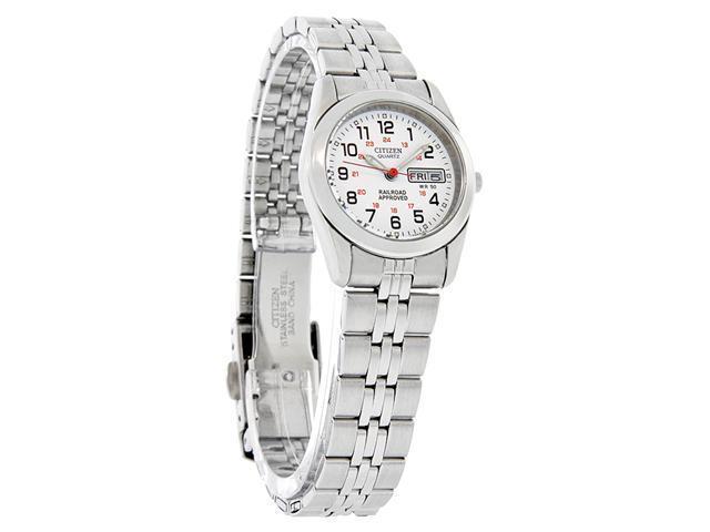 Citizen Quartz Ladies Day/Date Dress Watch EQ0510-58A