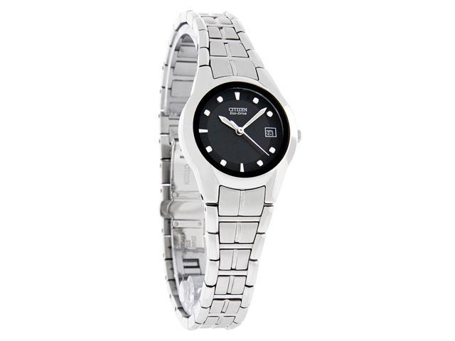 Citizen Ladies Eco Drive Stainless Steel Watch EW1410-50E