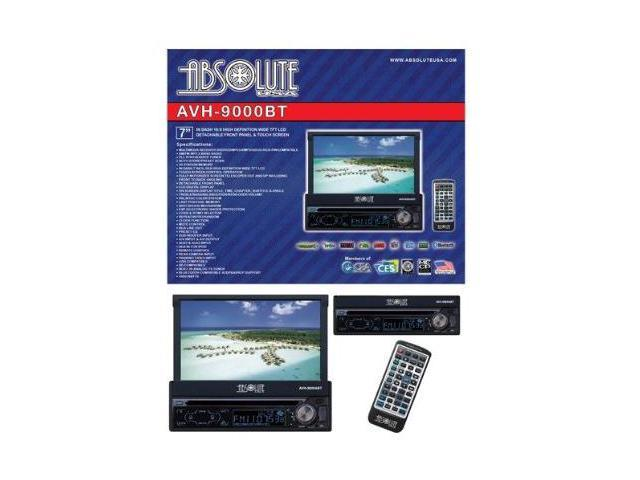 "Absolute AVH-9000BT 7"" In-Dash Multimedia Touch Screen System"