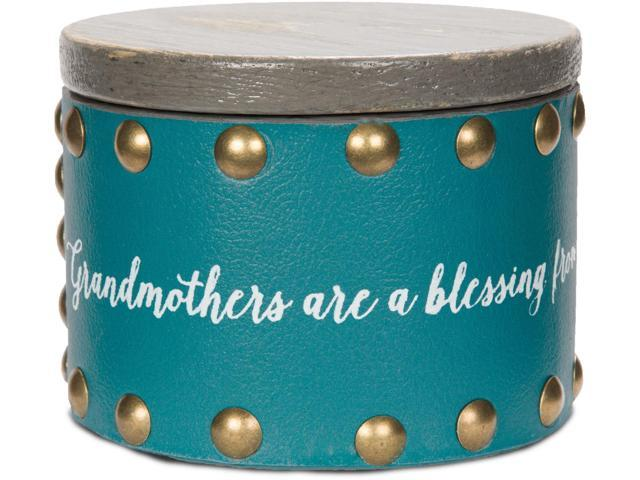 Emmaline - Grandmothers are a Blessing from Above, Filling our Hearts with Love Keepsake Jewelry Box 3 Inch