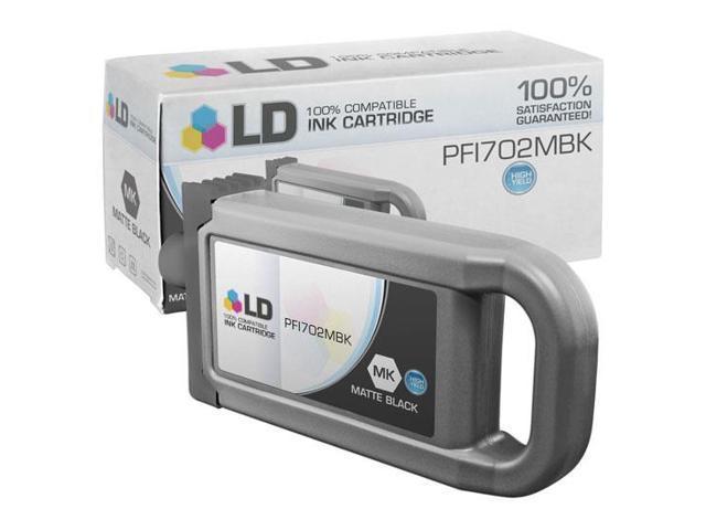 LD © Compatible Canon PFI-702MBK High Yield Pigment Matte Black Ink Cartridge