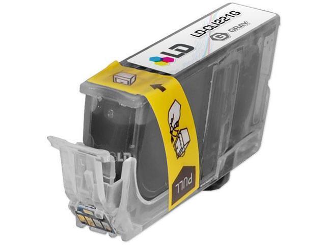 LD © Canon CLI221 Gray Compatible Inkjet Cartridge W/ Chip