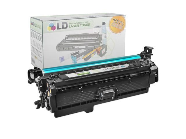 LD © Remanufactured Replacement Laser Toner Cartridge for Hewlett Packard CE264X (HP 646X) High-Yield Black