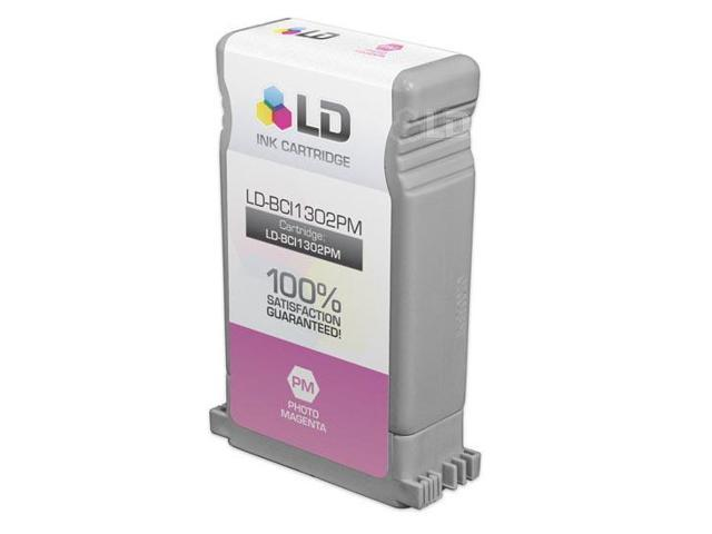 LD © Canon BCI1302PM Photo Magenta Compatible Inkjet Cartridge for imagePROGRAF W2200