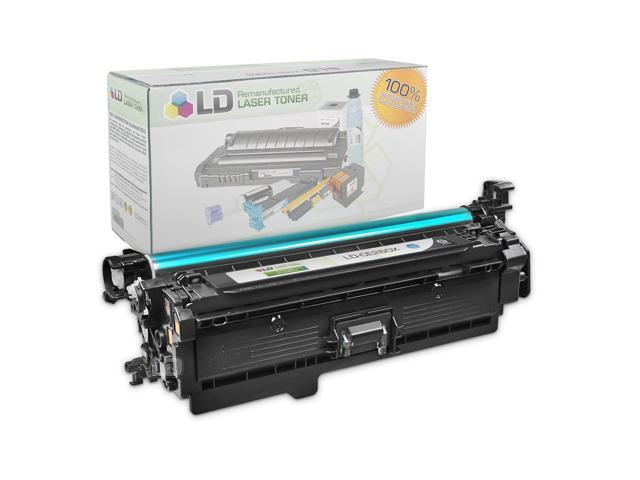 LD © Remanufactured Replacement Laser Toner Cartridge for Hewlett Packard (HP)  CE260X (649X) High Yield Black for use in HP Color LaserJet Enterprise CP4525dn, CP4525n and CP4525xh