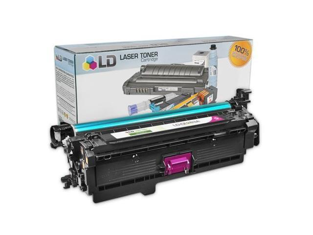 LD © Remanufactured Replacement Laser Toner Cartridge for Hewlett Packard CE263A (HP 648A) Magenta for the HP Color LaserJet Enterprise CP4525xh, CP4025n, CP4525n, CP4025dn, CP4525dn Printers