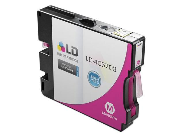LD © Compatible Ricoh 405703 High-Yield Magenta Ink Cartridge for Aficio GX e5550N (GC31M HY)