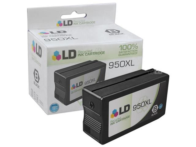 LD Remanufactured Replacement for Hewlett Packard CN045AN 950XL / 950 Pigment Black HY Cartridge for use in HP OfficeJet ...