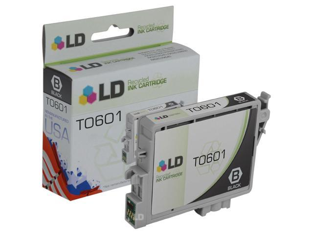 LD © Remanufactured Replacement for Epson T060120 Black Pigment Based Inkjet Cartridge for use in Epson Stylus C68, C88, C88Plus, CX3800, CX3810, CX4200, CX4800, CX5800f, and CX7800 Printers