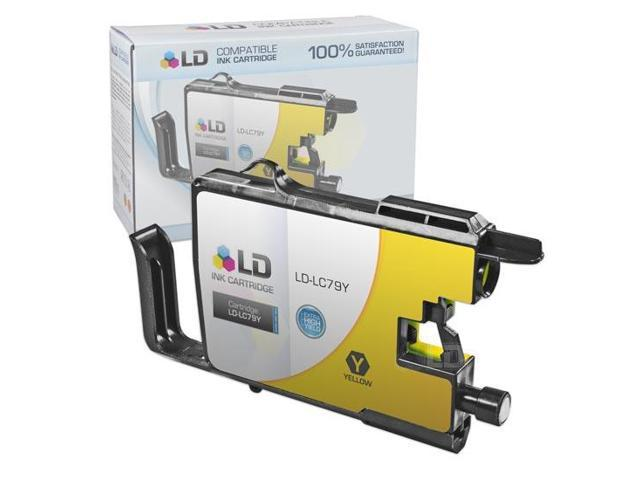 LD © Compatible Replacement for Brother LC79Y Yellow Extra High Yield Inkjet Cartridge for use in Brother MFC J5910DW, J6510DW, ...