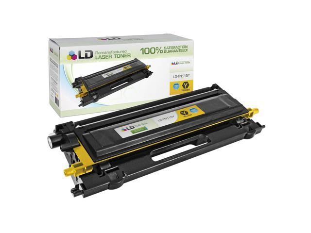 LD © Compatible Replacement for Brother TN315Y High Yield Yellow Laser Toner Cartridge for use in Brother HL-4150cdn, HL-4570cdw, HL-4570cdwt, MFC-9460cdn, MFC-9560cdw, and MFC-9970cdw Printers