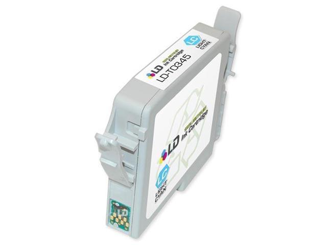 LD © Epson T034520 (T0345) Light Cyan Remanufactured Pigment Ink Cartridge for Stylus Photo 2100 and 2200