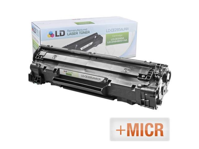 LD �� (MICR Toner) Remanufactured Replacement Laser Toner Cartridge for Hewlett Packard CE285A (HP 85A) Black