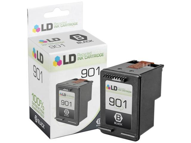 LD © Remanufactured Replacement Ink Cartridge for Hewlett Packard CC653AN (HP 901) Black