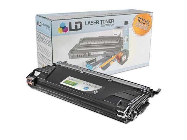 LD © Remanufactured Black Laser Toner Cartridge for Toshiba 12A9630
