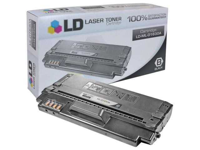 LD © Compatible Replacement for Samsung ML-D1630A Black Laser Toner Cartridge for use in Samsung ML-1630, ML-1630W, SCX-4500, and SCX-4500W Printers