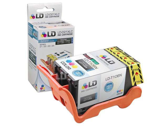 LD © Compatible T106N (Series 23) High Yield Color Ink Cartridge for Dell V515w