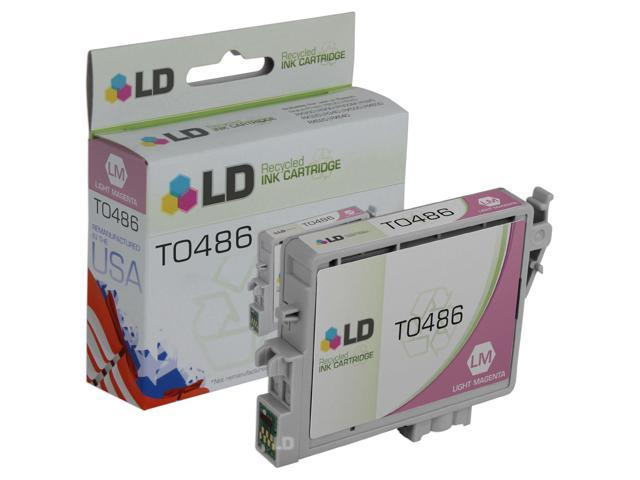 LD © Remanufactured Replacement for Epson T048620 (T0486) Light Magenta Inkjet Cartridge for use in Epson Stylus Photo R200, R220, R300, R300M, R320, R340, RX500, RX600, and RX620 Printers