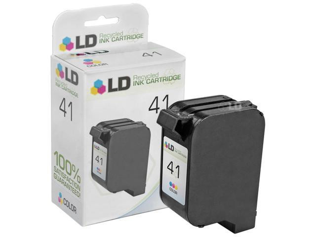 LD © Remanufactured Replacement Ink Cartridge for Hewlett Packard 51641A (HP 41) Tri-Color