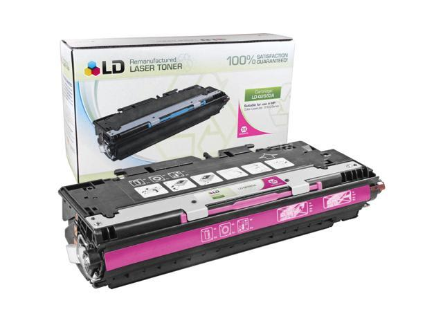 LD © Remanufactured Replacement Laser Toner Cartridge for Hewlett Packard Q2683A (HP 311A) Magenta