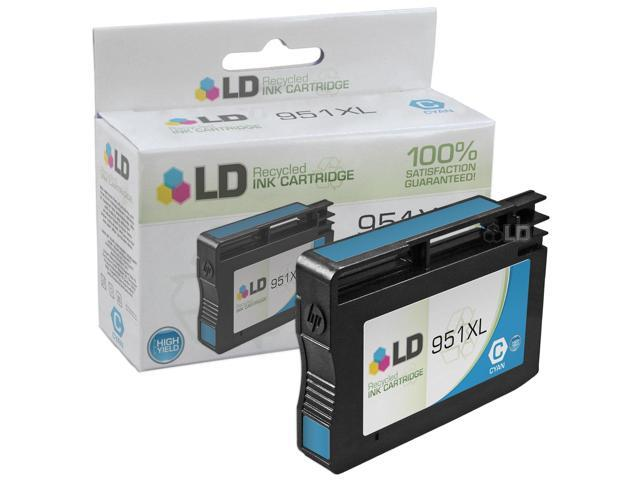 LD © Remanufactured Replacement for Hewlett Packard CN046AN 950XL / 950 Cyan HY Cartridge for use in HP OfficeJet Pro 251dw, ...