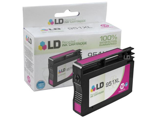 LD © Remanufactured Replacement for HP 951XL CN047AN Magenta HY Cartridge for use in HP OfficeJet Pro 251dw, 276dw MFP, 8100, ...