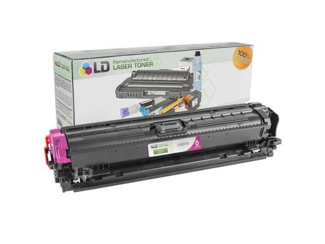 LD © Remanufactured Replacement Laser Toner Cartridge for Hewlett Packard CE273A (HP 650A) Magenta