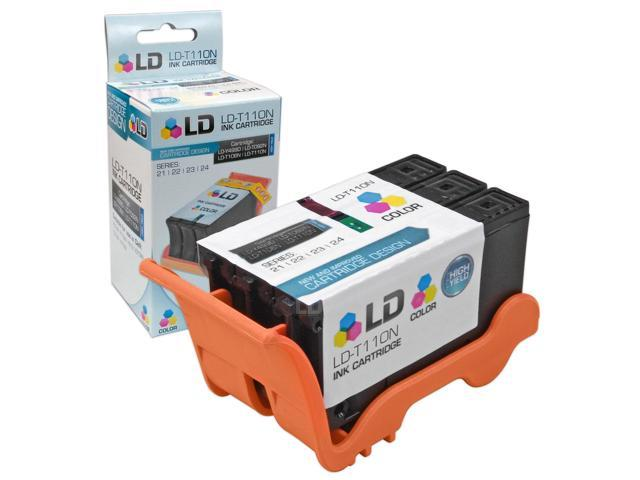 LD © Compatible T110N / 330-5288 (Series 24) High Yield Color Ink Cartridge for Dell P713w and V715w