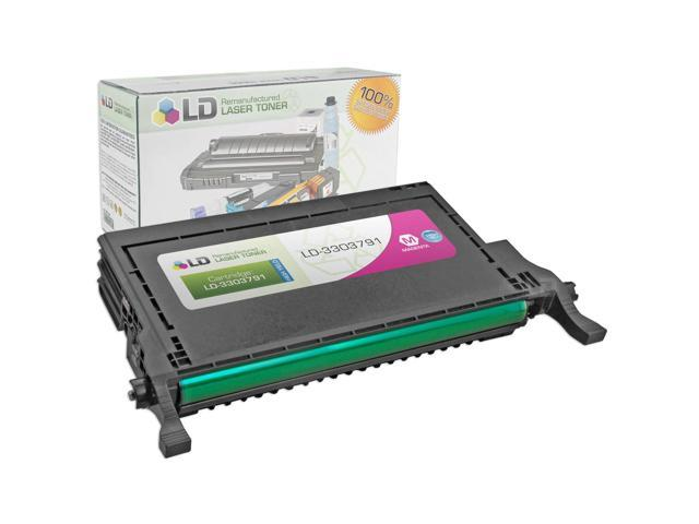 LD © Refurbished Toner to replace Dell 330-3791 High Yield Magenta Toner Cartridge for the 2145cn Printer