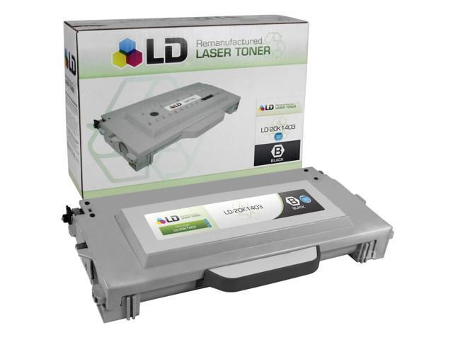 LD © Remanufactured High Yield Black Laser Toner Cartridge for Lexmark 20K1403