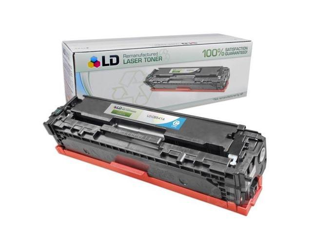 LD © Remanufactured Replacement Laser Toner Cartridge for Hewlett Packard CB541A (HP 125A) Cyan