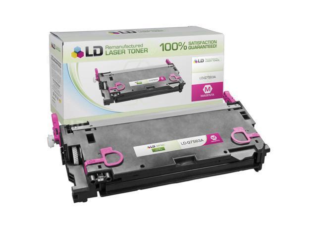 LD © Remanufactured Replacement Laser Toner Cartridge for Hewlett Packard Q7563A (HP 314A) Magenta