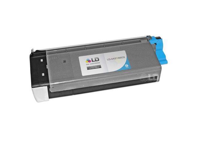 LD © Compatible Okidata 44318603 Cyan Laser Toner Cartridge for OKI C711dn, C711dtn, C711n, & C711wt Printers