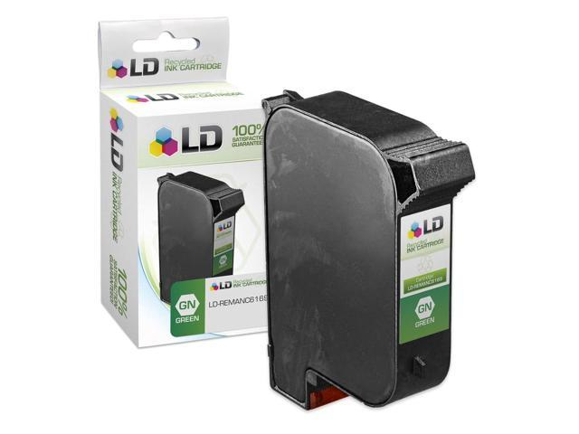 LD © Remanufactured Replacement Ink Cartridge for Hewlett Packard C6169A Spot Color Green