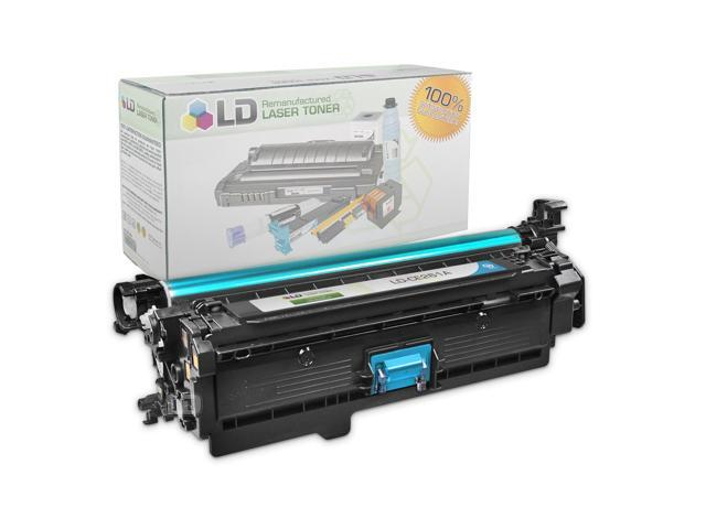 LD © Remanufactured Replacement Laser Toner Cartridge for Hewlett Packard CE261A (HP 648A) Cyan for the HP Color LaserJet Enterprise CP4525xh, CP4025n, CP4525n, CP4025dn, CP4525dn Printers