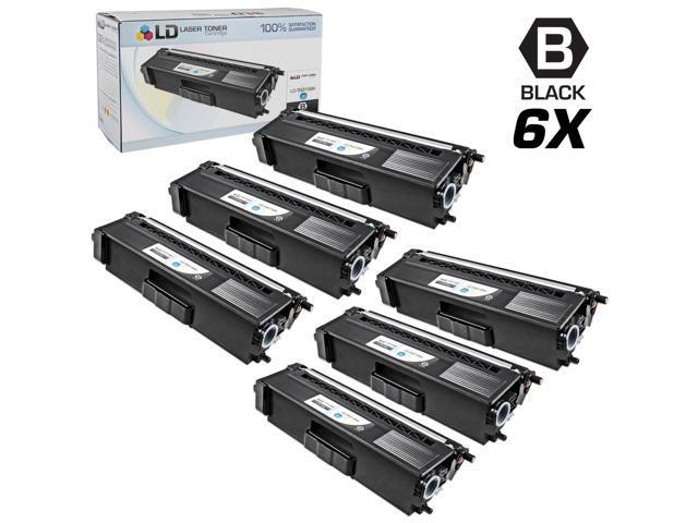 LD © Compatible Brother Black TN315 Set of 6 Toner Cartridges for use in HL-4150cdn, HL4570cdw, HL-4570cdwt, MFC-9460cdn, ...