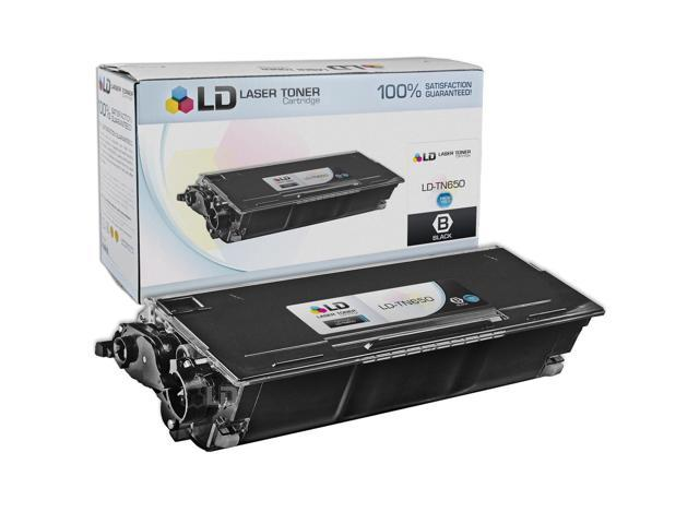 LD © Compatible Replacement for Brother TN650 High Yield Laser Toner Cartridge for use in Brother DCP, HL and MFC Series Printers
