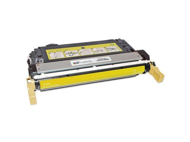 LD © Remanufactured Replacement Laser Toner Cartridge for Hewlett Packard CB402A (HP 642A) Yellow