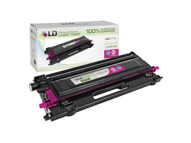 LD © Compatible Replacement for Brother TN315M High Yield Magenta Laser Toner Cartridge for use in Brother HL-4150cdn, HL-4570cdw, HL-4570cdwt, MFC-9460cdn, MFC-9560cdw, and MFC-9970cdw Printers