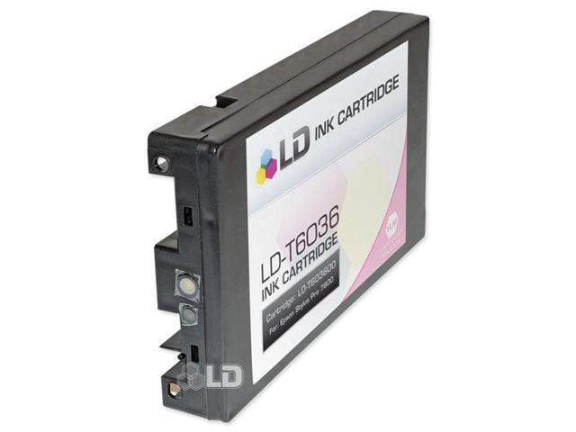 LD © Remanufactured Replacement for Epson T603600 High Capacity Light Magenta 220ml Pigment Ink Cartridge for Stylus Pro 7880 & 9880