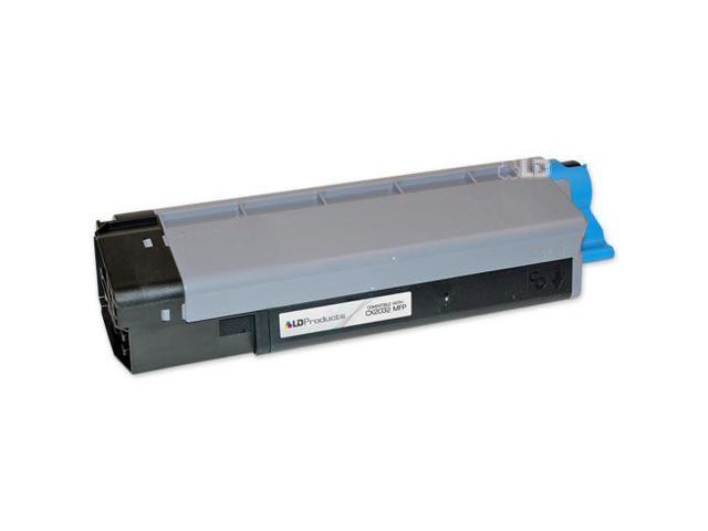LD © Okidata Compatible 43324476 'Type C8' Cyan Laser Toner Cartridge for the CX2032 MFP
