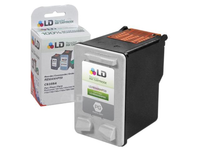 LD © Remanufactured Replacement Ink Cartridge for Hewlett Packard C9359AN (HP 59) Photo Gray
